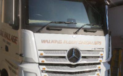 new Mercedes Actros Giga 2551