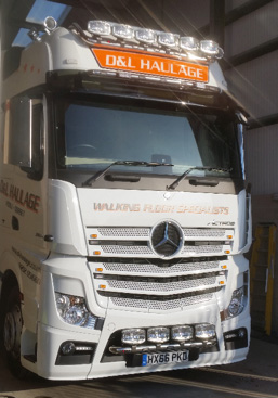new Mercedes Actros Giga 2551