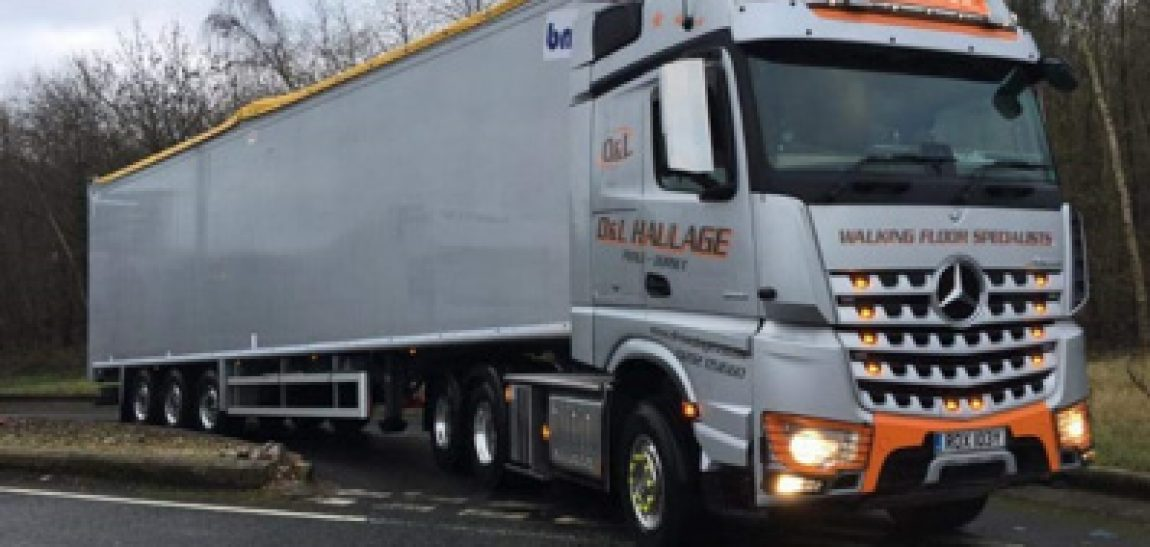 new BMI Waste Specification Moving Floor Trailer