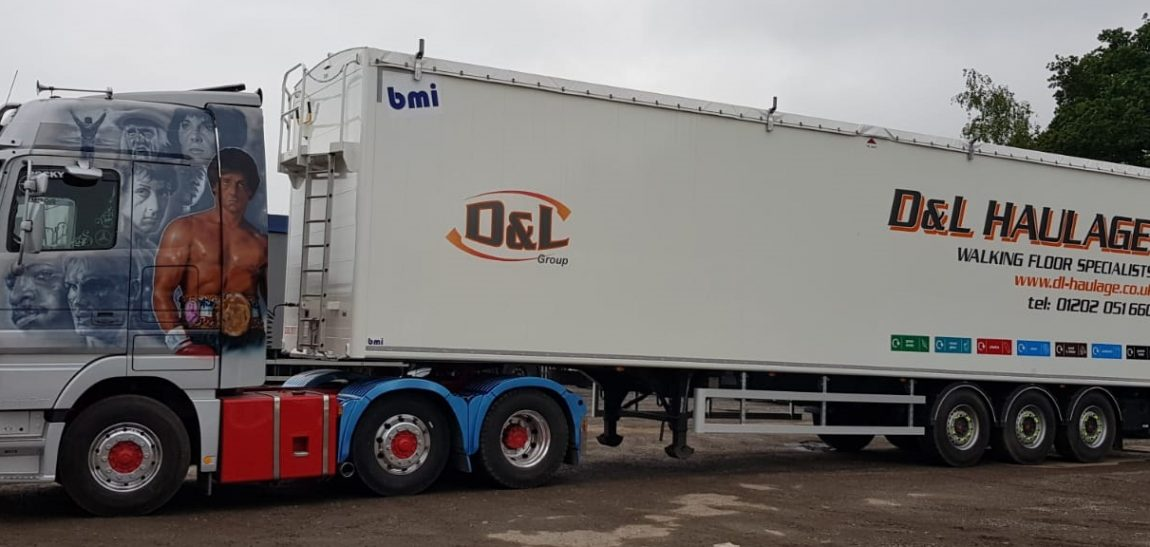 BMI Moving Floor Trailers